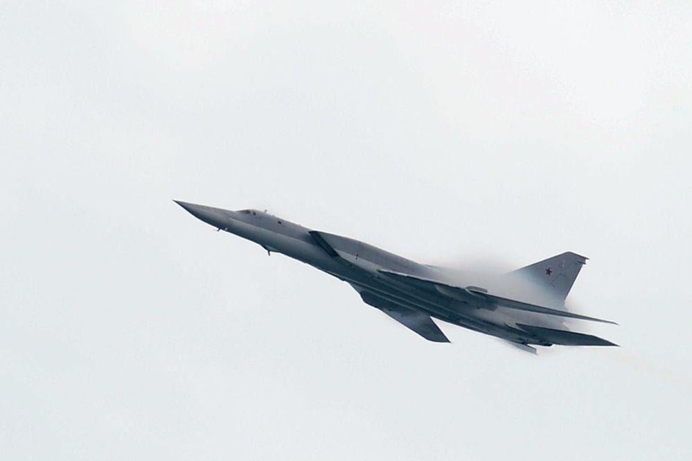 Tu-22M3 é um bombardeiro de longo alcance supersônico
