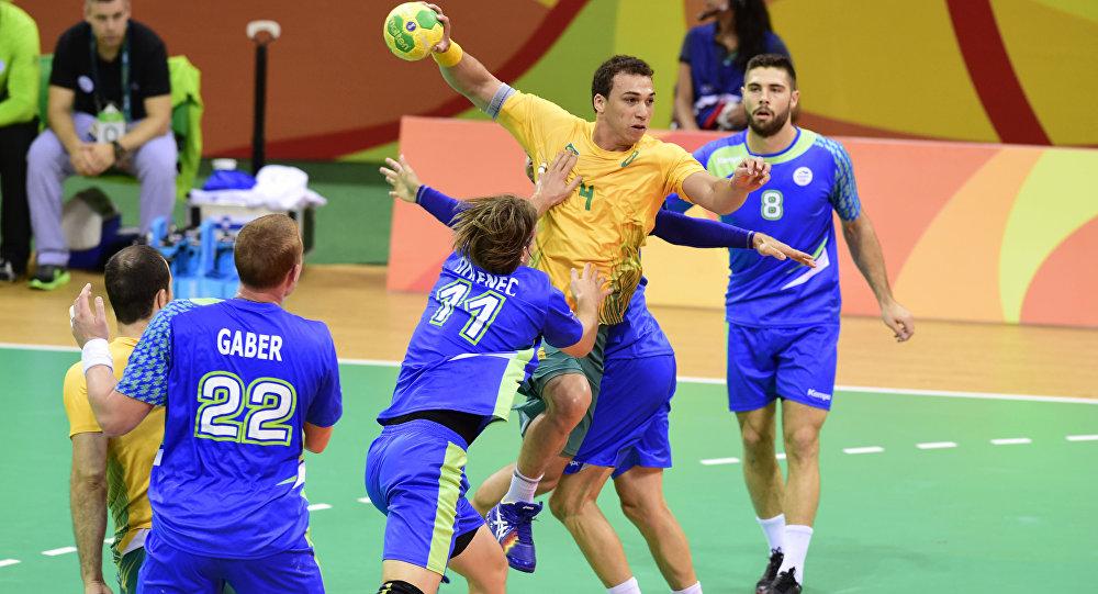 Jogos Olímpicos Rio 2016: Handebol Masculino- Brasil e Slovênia