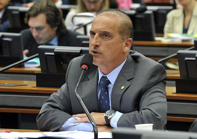 Deputado federal Onyx Lorenzoni - DEM/RS
