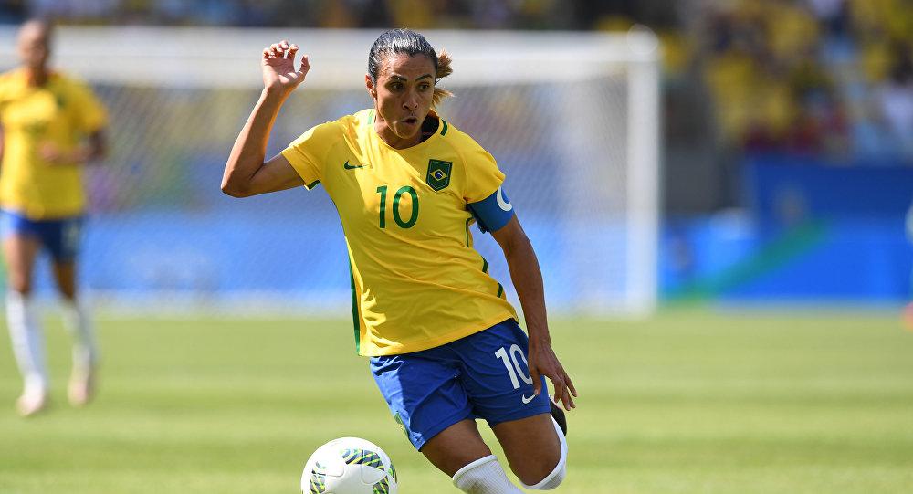 Marta, craque da seleção brasileira e melhor jogadora do mundo