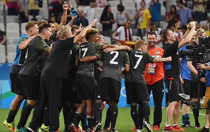 d3902b81ea Futebol Olímpico  Alemanha bate Nigéria e jogará final com o Brasil -  Sputnik Brasil