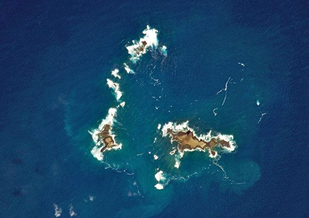 Ilhas Selvagens, imagem foi feita pela NASA