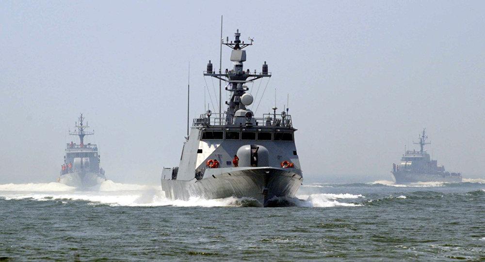 Navio de mísseis sul-coreano Yoon Young Ha