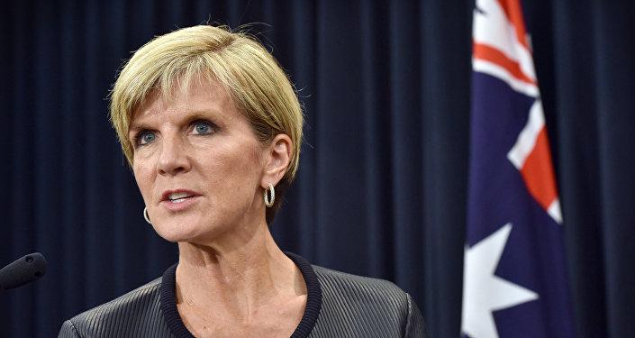 A minsitra das Relações Exteriores da Austrália, Julie Bishop