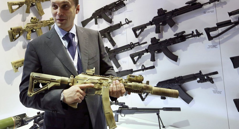 Aleksey Krivoruchko, executivo-chefe da Kalashnikov Concern