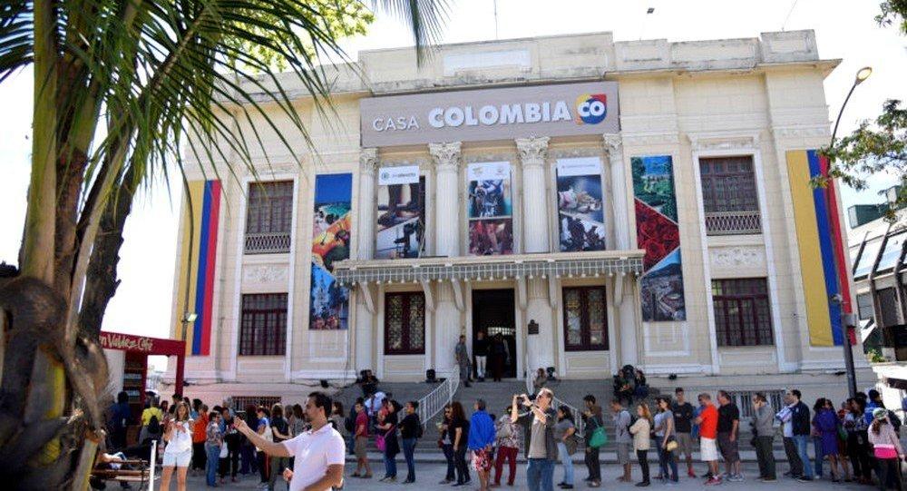 A Casa Colômbia foi uma das mais visitadas durante os Jogos Olímpicos