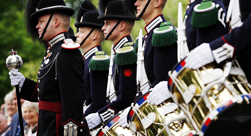 Membros da Guarda Real da Noruega