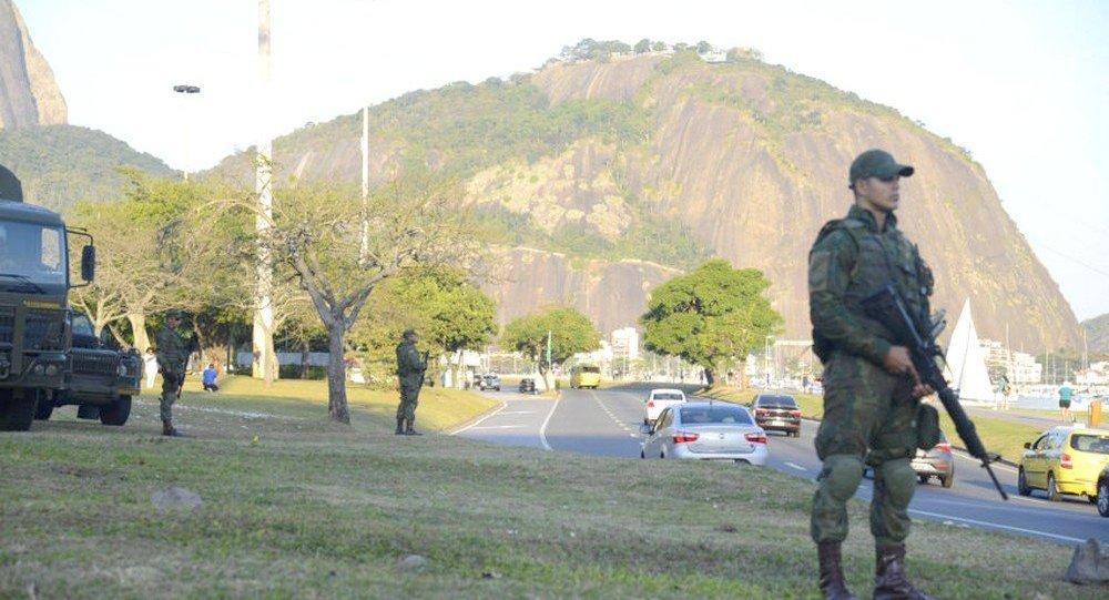 Forças Armadas na seguranca Olimpiadas Rio 2016