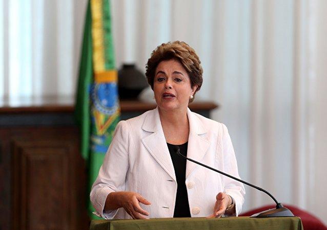 Dilma desabafo