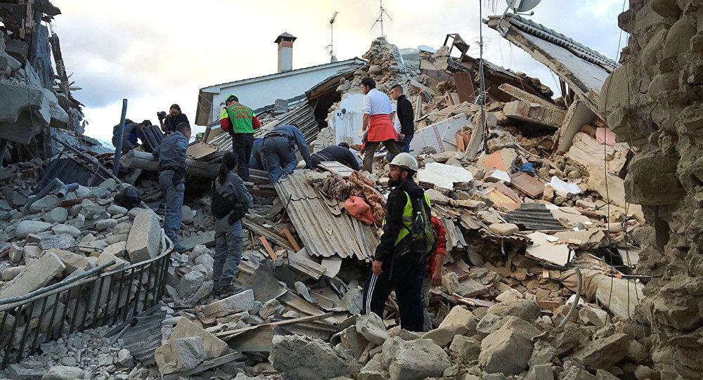 Terremoto na Itália (arquivo)
