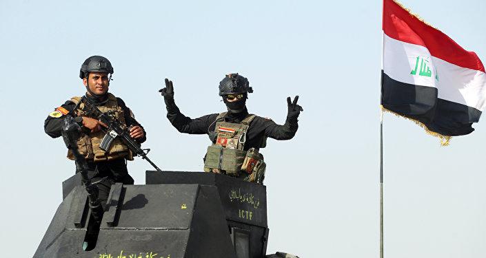 Militares do Serviço antiterrorista iraquiano na província de Al-Anbar (foto de arquivo)
