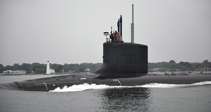 USS Illinois, foto da empresa General Dynamics Electric Boat, 24 de agosto de 2016
