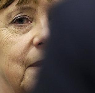 A Chancelera da Alemanha Angela Merkel