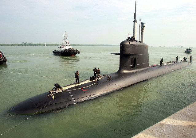 Submarino (foto de arquivo)