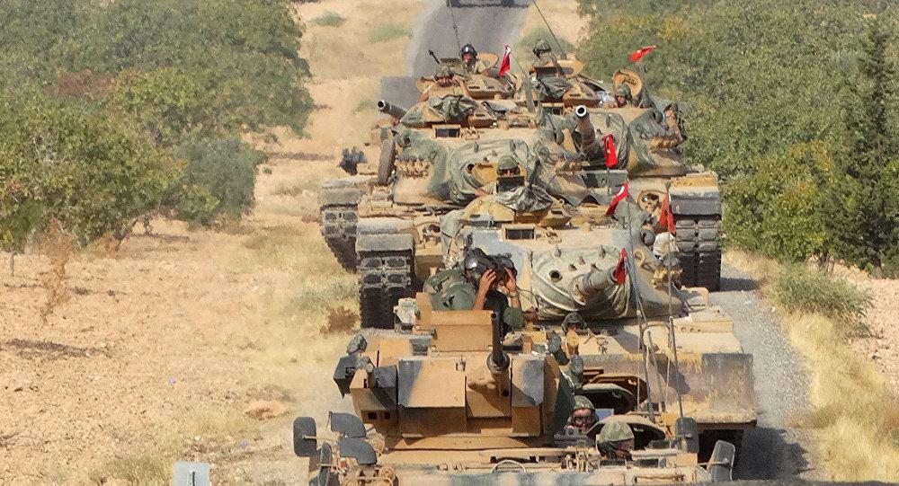 Ofensiva da Turquia na Síria (foto de arquivo)
