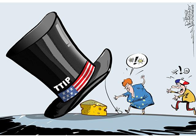 França exige que UE pare as negociações com EUA sobre Parceria Transatlântica de Comércio e Investimento
