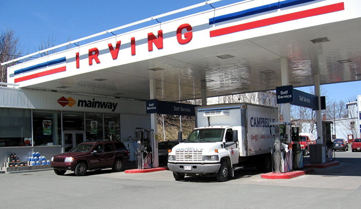Irving Oil no Canadá
