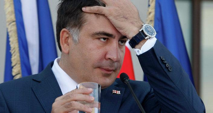 Ex-presidente da Geórgia Mikheil Saakashvili