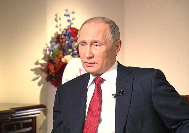 Entrevista de Vladimir Putin à Bloomberg