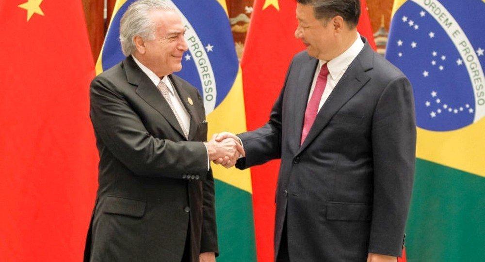 Brasil e China fecham acordos de mais de R$ 10 bilhões