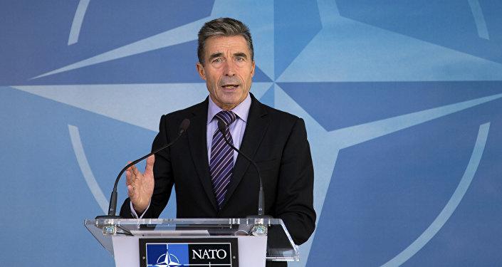 Anders Fogh Rasmussen, ex-secretário-geral da OTAN e atual conselheiro do presidente da Ucrânia