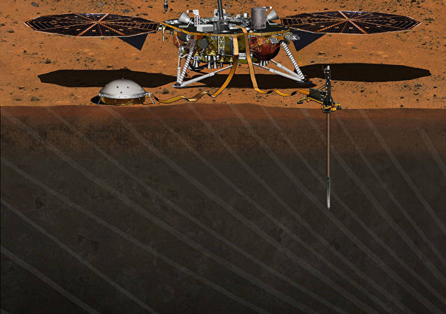 Módulo de pouso InSight da NASA