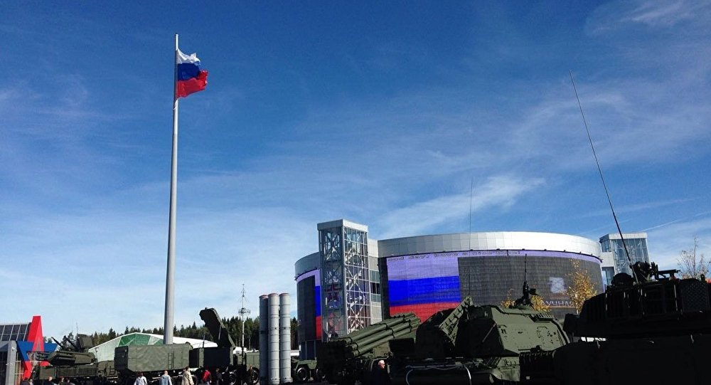 Fórum militar EXÉRCITO 2016 na Rússia