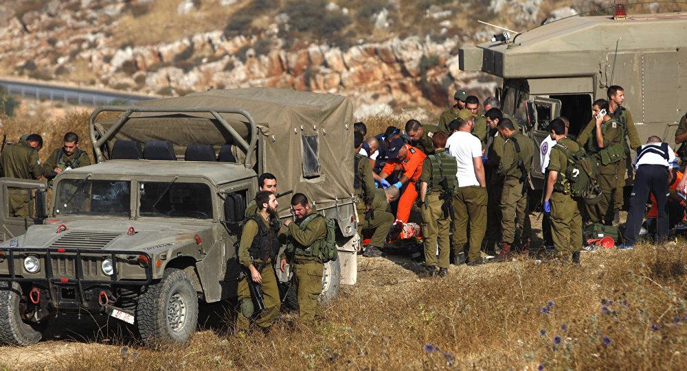 Militares de Israel nas Colinas de Golã (foto de arquivo)