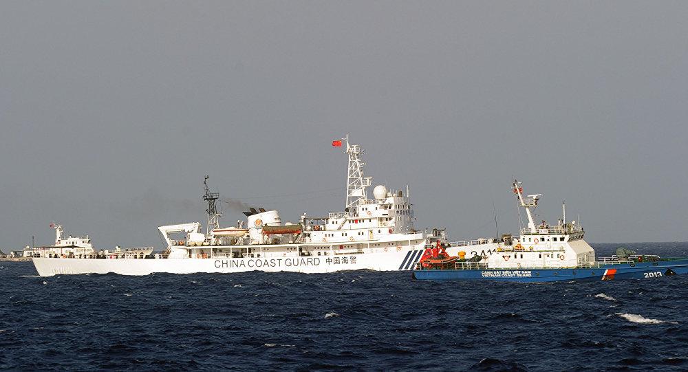 Navio da guarda costeira chinesa (foto de arquivo)