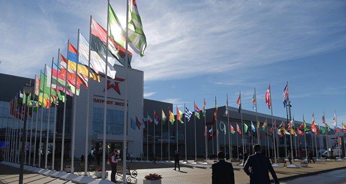 Fórum militar internacional EXÉRCITO 2016, em Kubinka