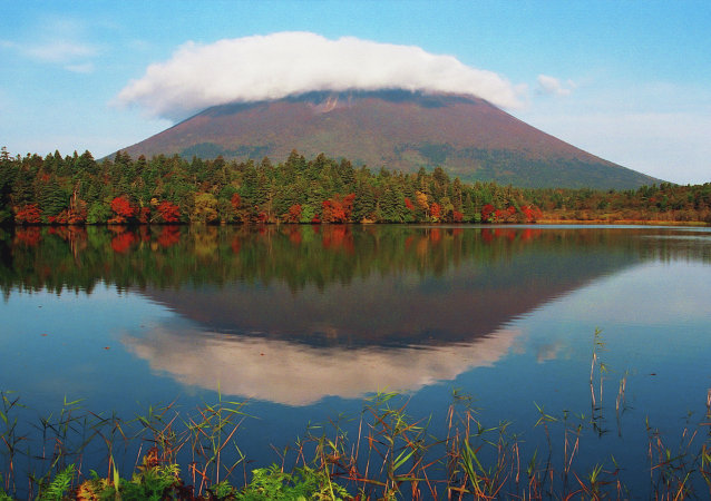Panorama fascinante das ilhas Curilas