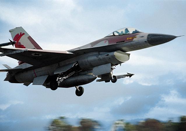 Caça da Força Aérea de Israel (arquivo)