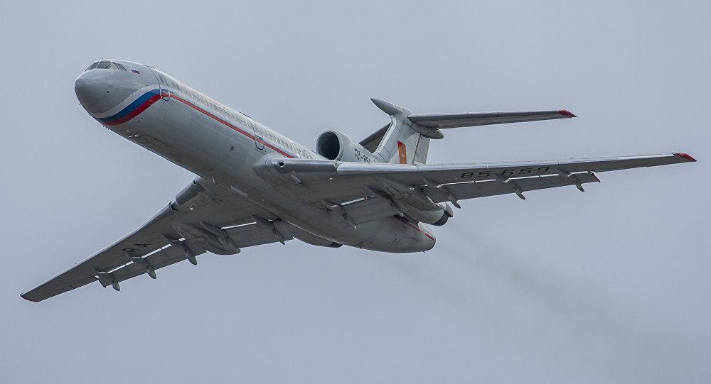 Avião de observação russo Tu-154M-LK-1