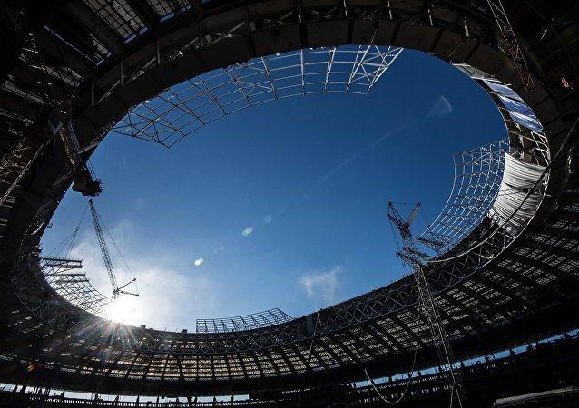 Estádio Luzhniki, palco da abertura e da final da Copa de 2018
