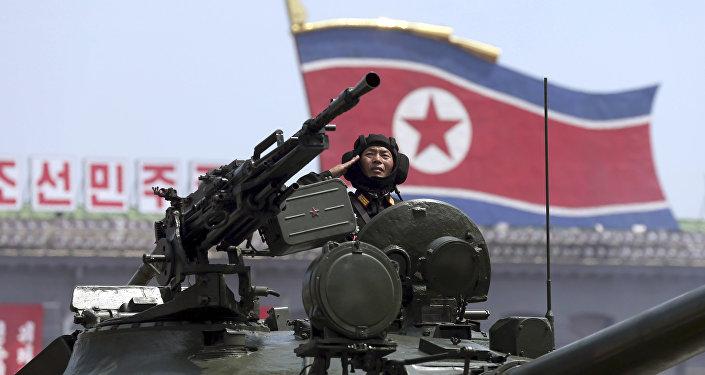 Soldado do Exército da Coreia do Norte