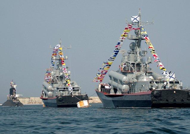 Navios da Frota do mar Negro (foto de arquivo)