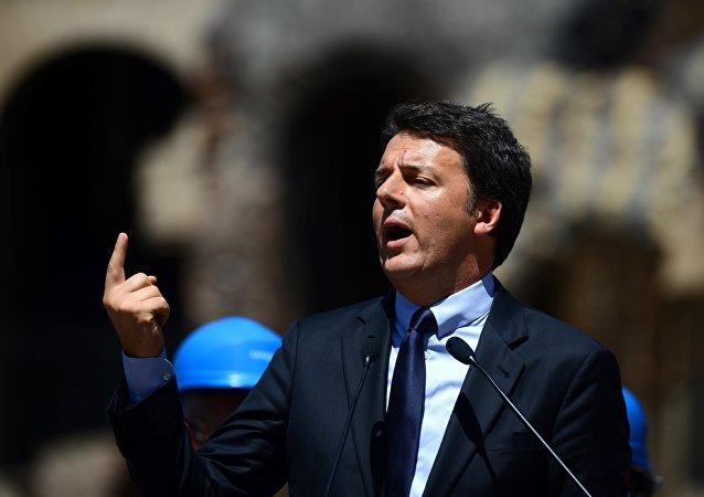 Primeiro-ministro italiano, Matteo Renzi