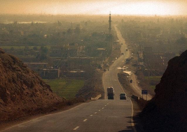 Cidade síria de Deir ez-Zor (arquivo)