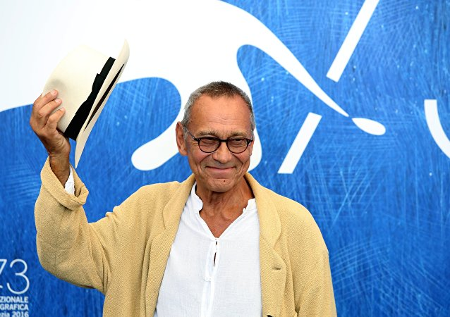 Director Andrei Konchalovsky at the 73rd Venice Film Festival in Lido