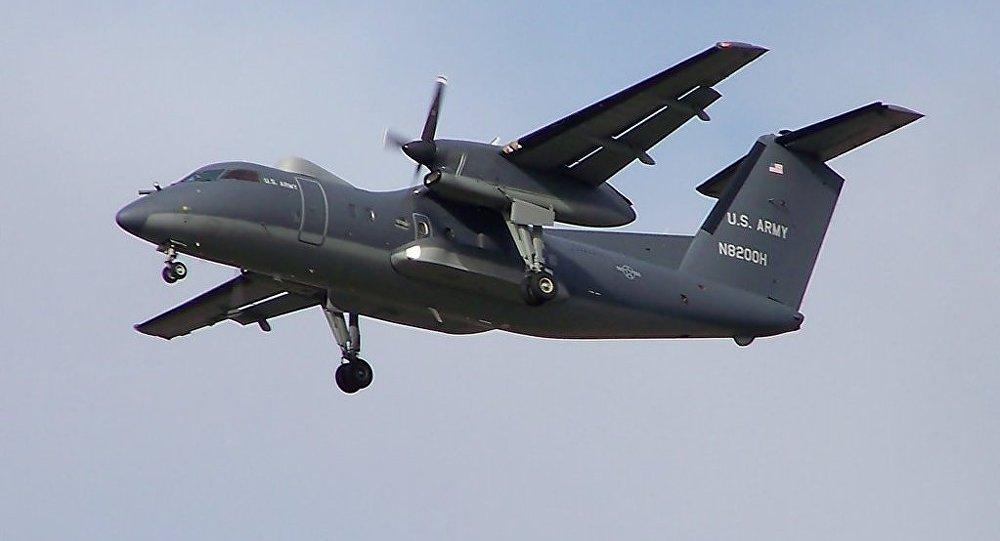 Avião Dash 8 norte-americano