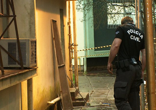 Imagem da série de TV - Operação Policial (foto de arquivo)