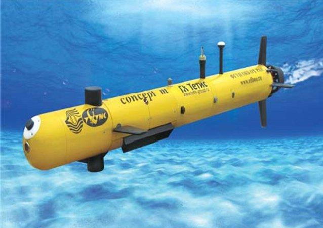 Drone submarino russo Concept-M