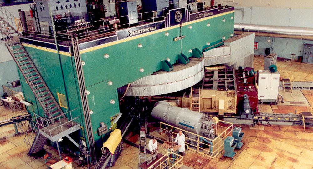 Acelerador supercondutor avançado de íons pesados em Dubna, Rússia