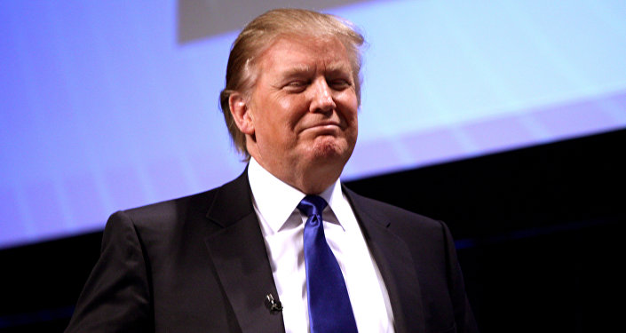 Candidato presidenciável do Partido Republicano Donald Trump