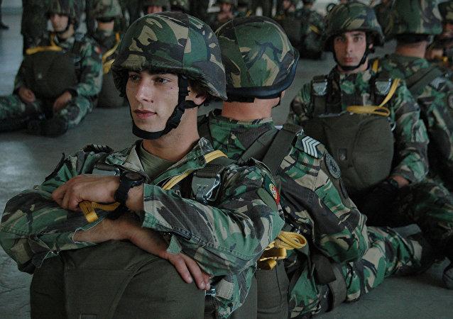 Paraquedistas do Exército de Portugal (foto de arquivo)