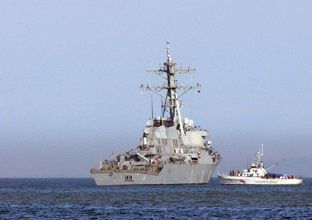 USS Barry, navio de guerra contratorpedeiro