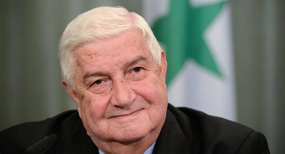 Ministro das Relações Exteriores da Síria, Walid Muallem