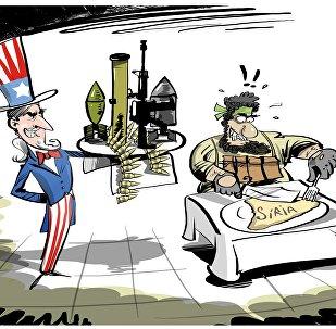 Serviço especial à americana para terroristas