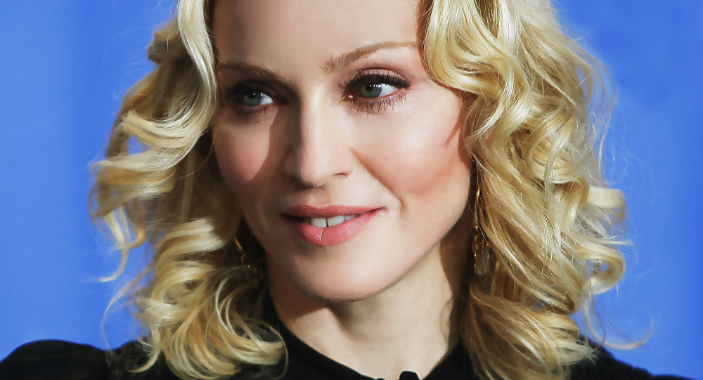 Cantora americana Madonna