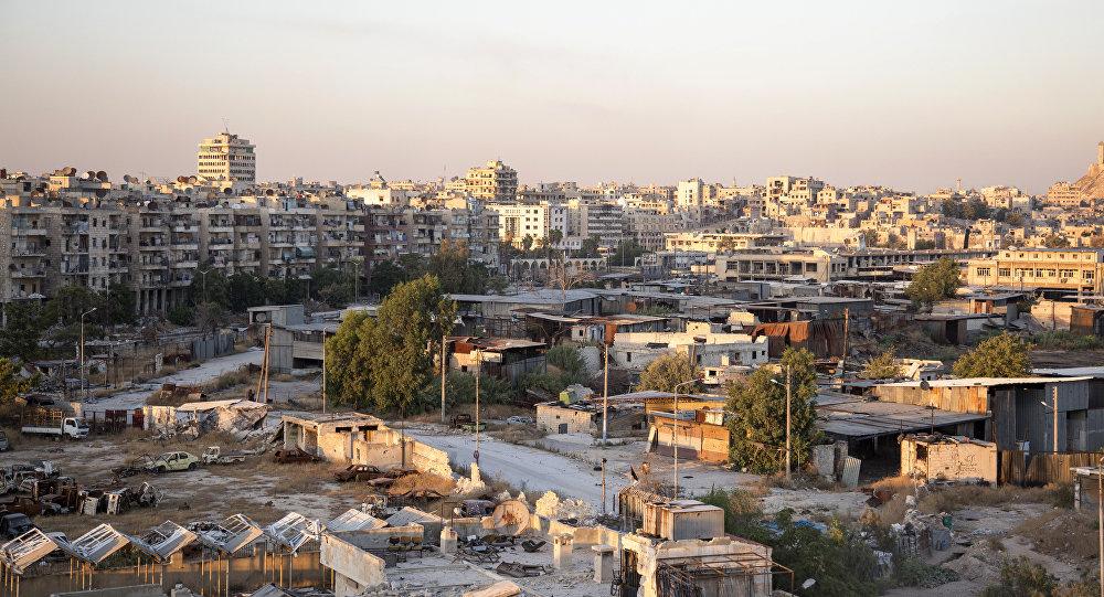 Região controlada por rebeldes em Aleppo
